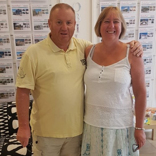 Lynda and Keith Povey