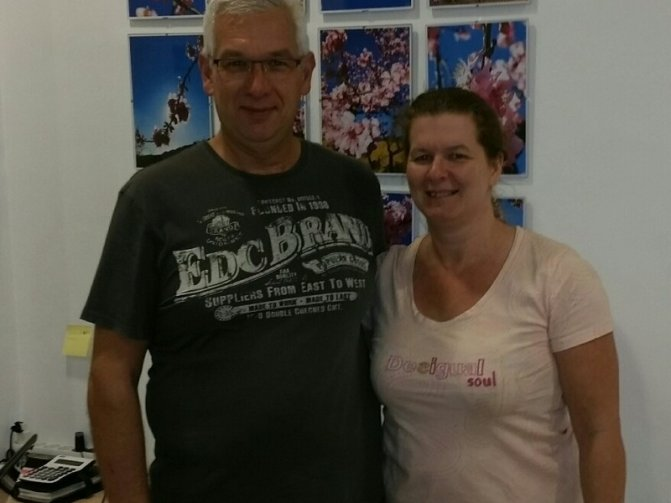 Luc and Marieke Van Caeneghem