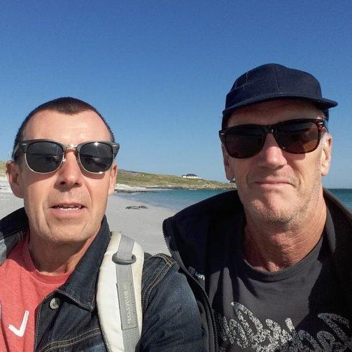 John and Gary De Buse
