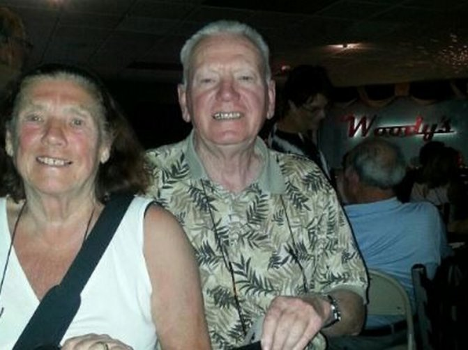 Keith and Jan Lewis – 28 January 2015
