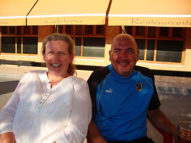 John and Clare David