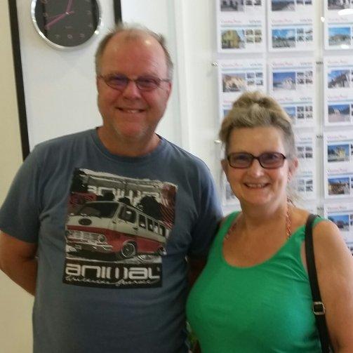 Dave and Karen Marsh