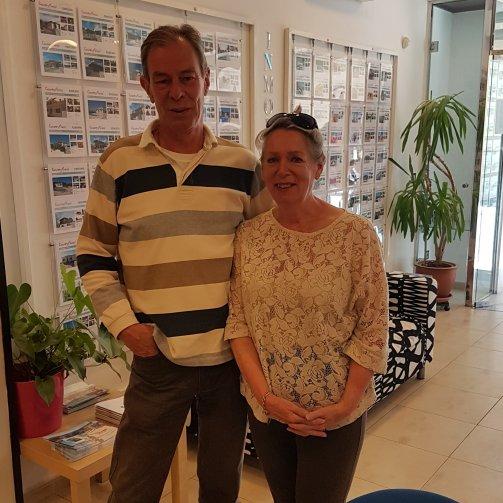 Ian and Judy Holt