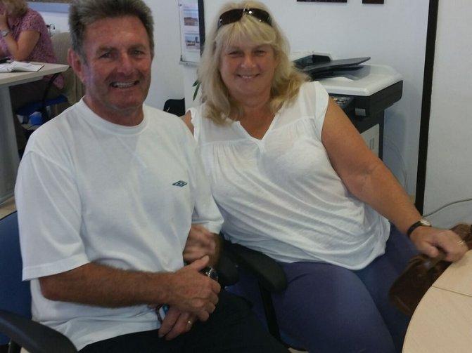 Mary and Adrian Hughes