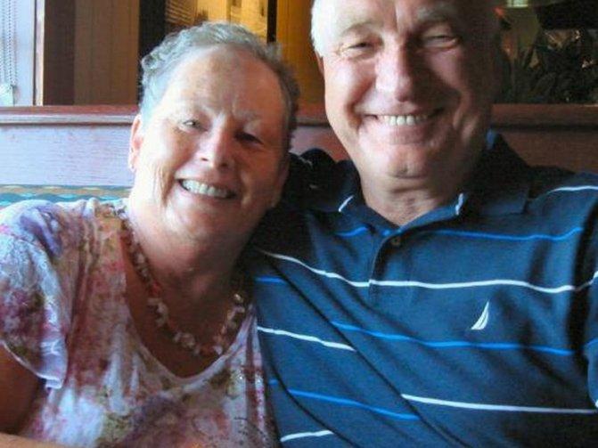 Tom and Barbara Burnside